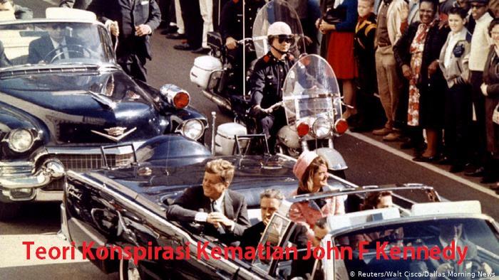 Teori Konspirasi Kematian John F Kennedy