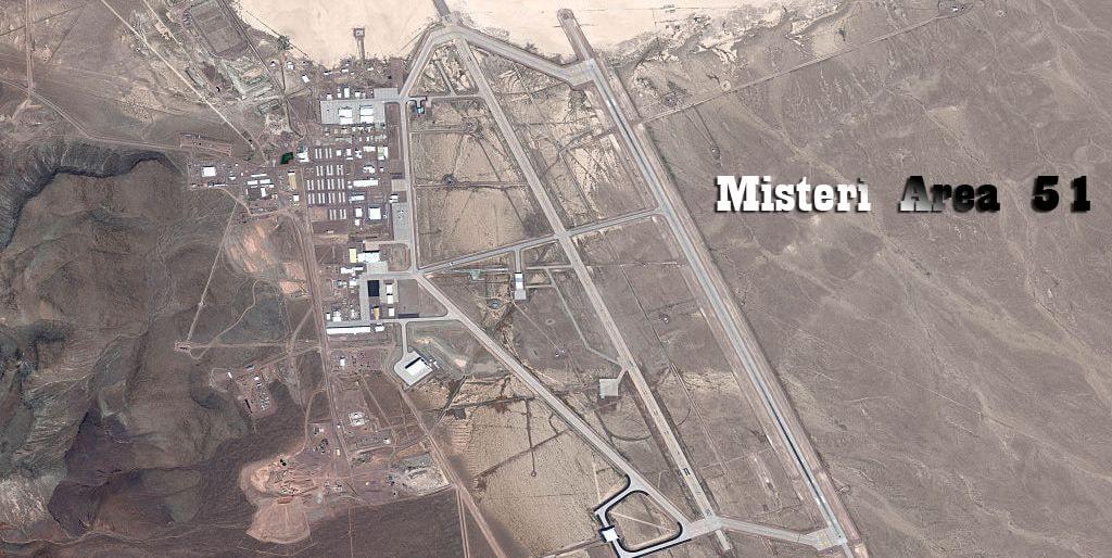 Teori Konspirasi Area 51 Daerah Terlarang
